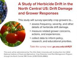 Growers can take our survey now through the end of March.