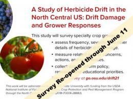 Take the survey at go.osu.edu/drift21